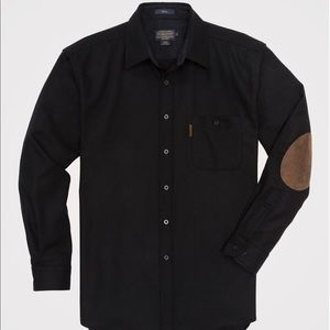 Pendleton NWOT Virgin Wool Trail Shirt Dark Navy
